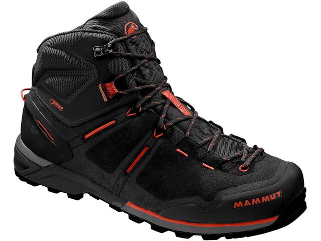 classic fit super specials catch Mammut Alnasca Pro Mid GTX Shoes Men graphite-zion